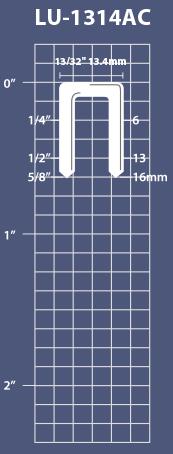 LU-1314AC Fasteners Length
